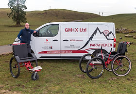 Gordon and his GM4X van