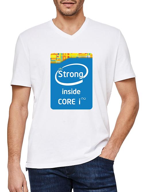 Strong Inside - Men's Cotton T-shirt