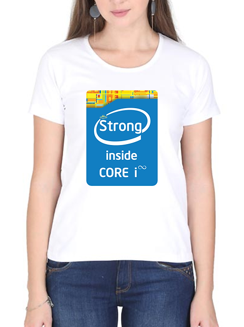 Strong Inside - Ladies Cotton T-shirt