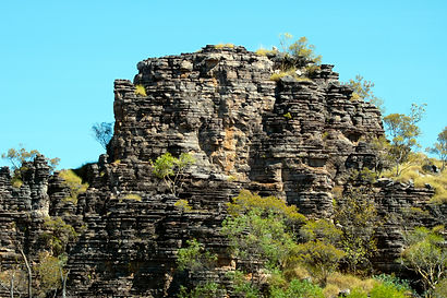 Sandstone escarpments