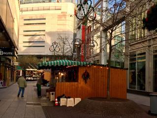 今夜からクリスマスマーケット開始