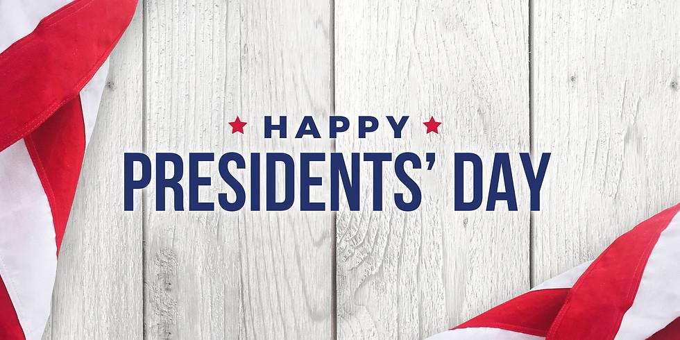 Presidents Day Camp - Feb 17th