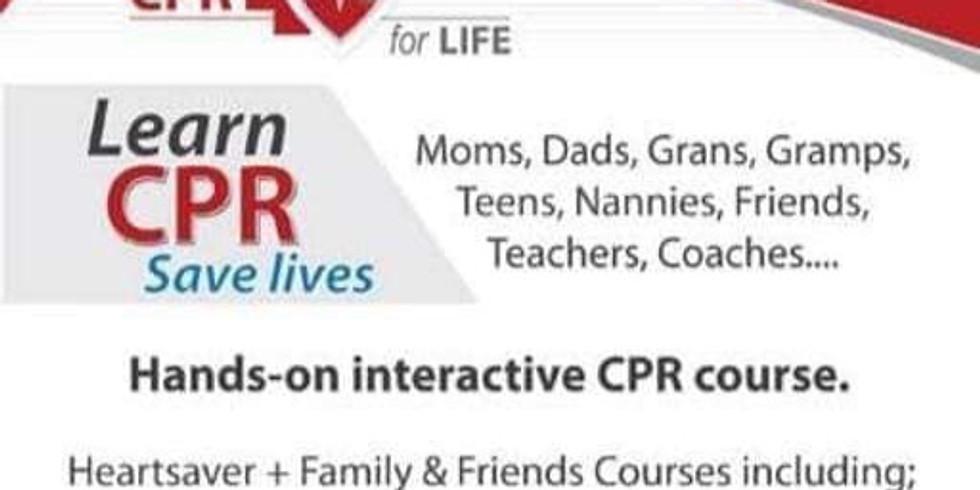 CPR Certification October Class
