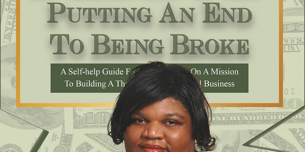 Period: Putting an End to Being Broke book launch