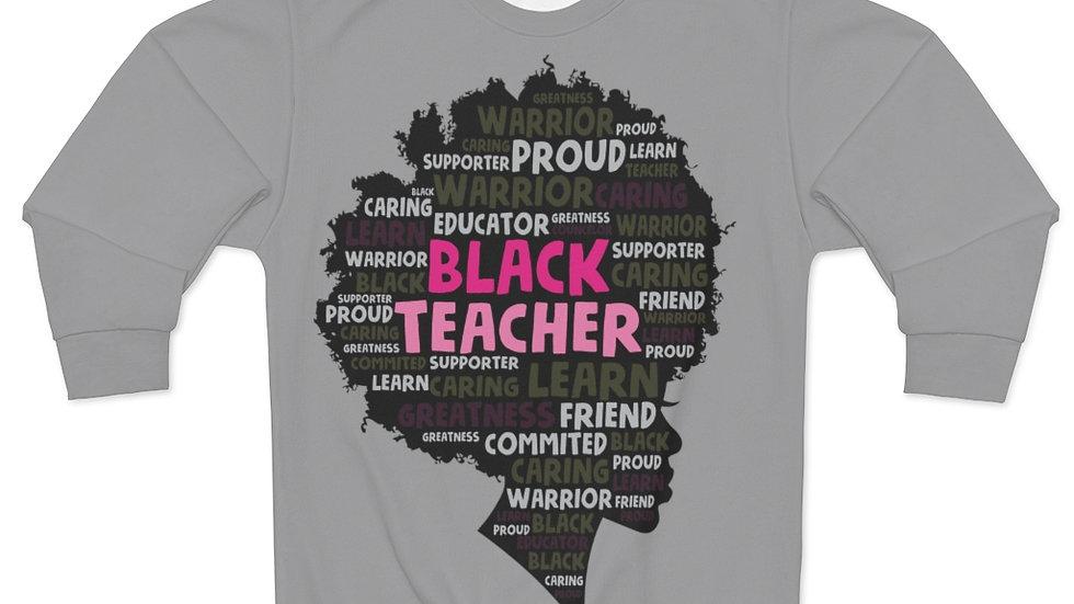 Black Teacher Sweatshirt