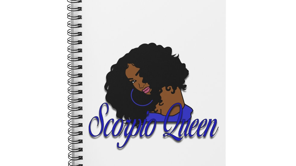 Zodiac Queen notebook