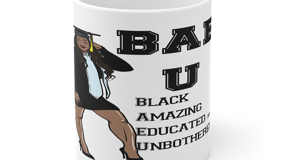 B.A.E. U mug 11oz