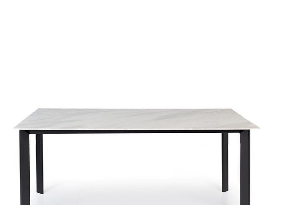 Anderson Dining Table - Misty Rain Marble