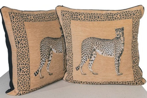 Cheetah Cushions (set of 2)