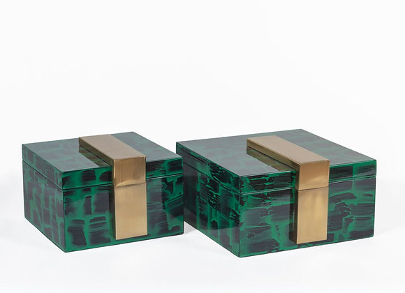Emerald Green Boxes