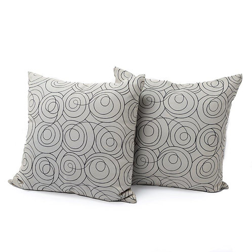 Swirl Cushion (set of 2)
