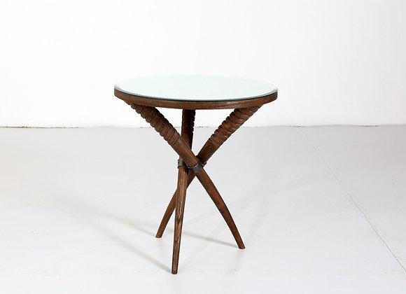 Horn Side Table