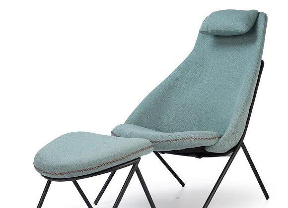 Armchair Jumbo with Footstool