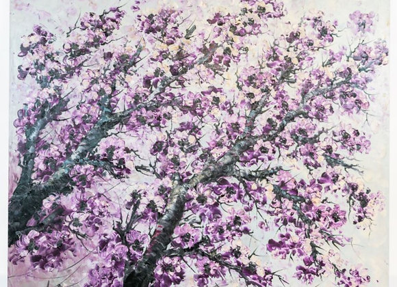 Splashof Purple Painting