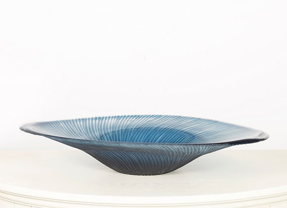 Shaded Blue Bowl