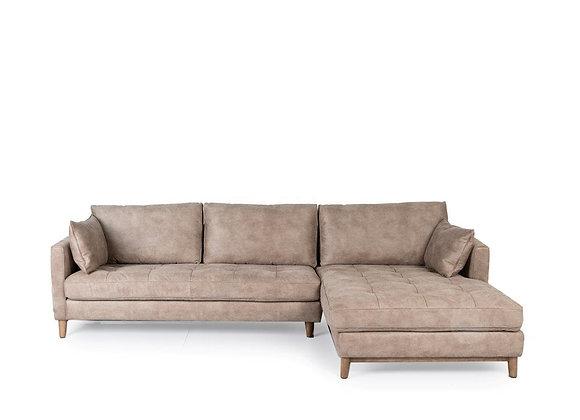 Carmen L-shape Sofa (Right Chaise)