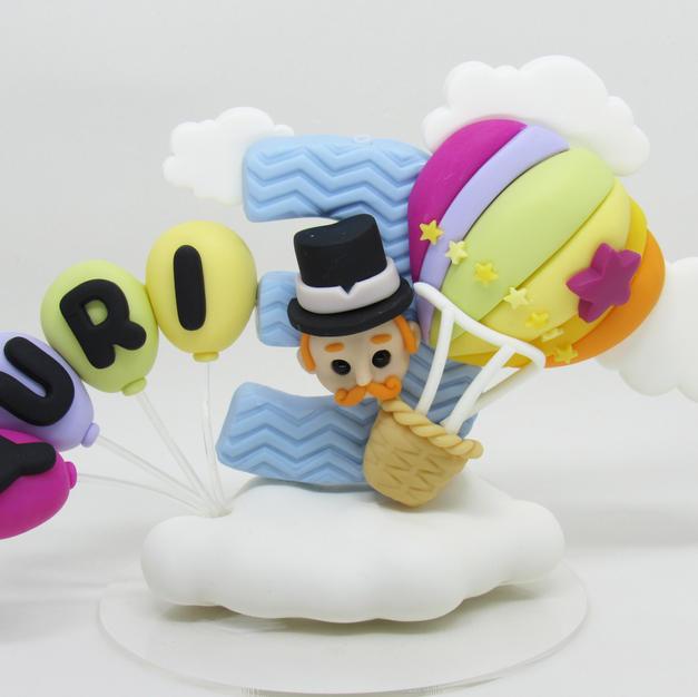 Vela Mundo Bita Balão