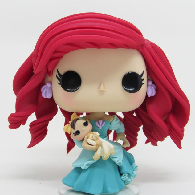Princesa Ariel e Melody Baby