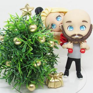 Chibis de Natal