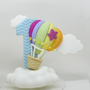 Vela Mundo Bita Balão Simples