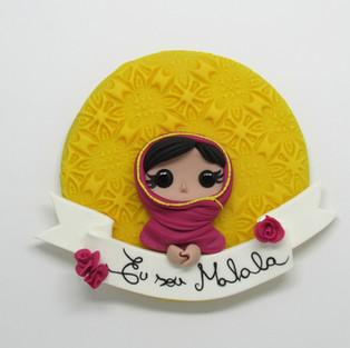 Quadrinho Malala