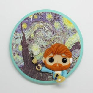 Quadrinho Van Gogh