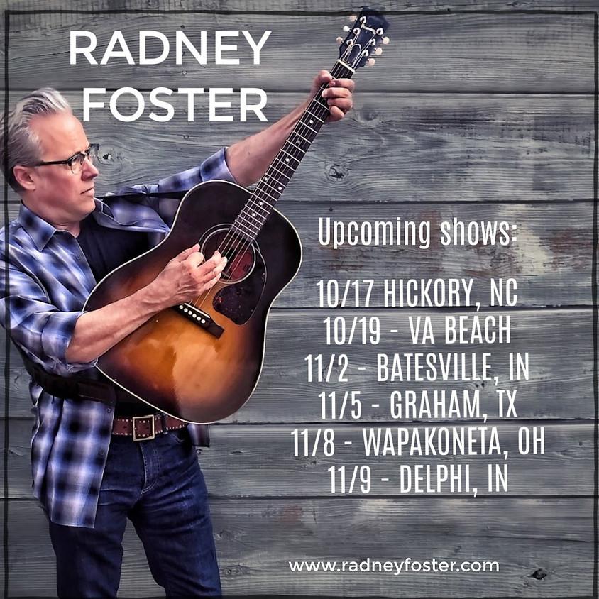 Radney Foster Solo