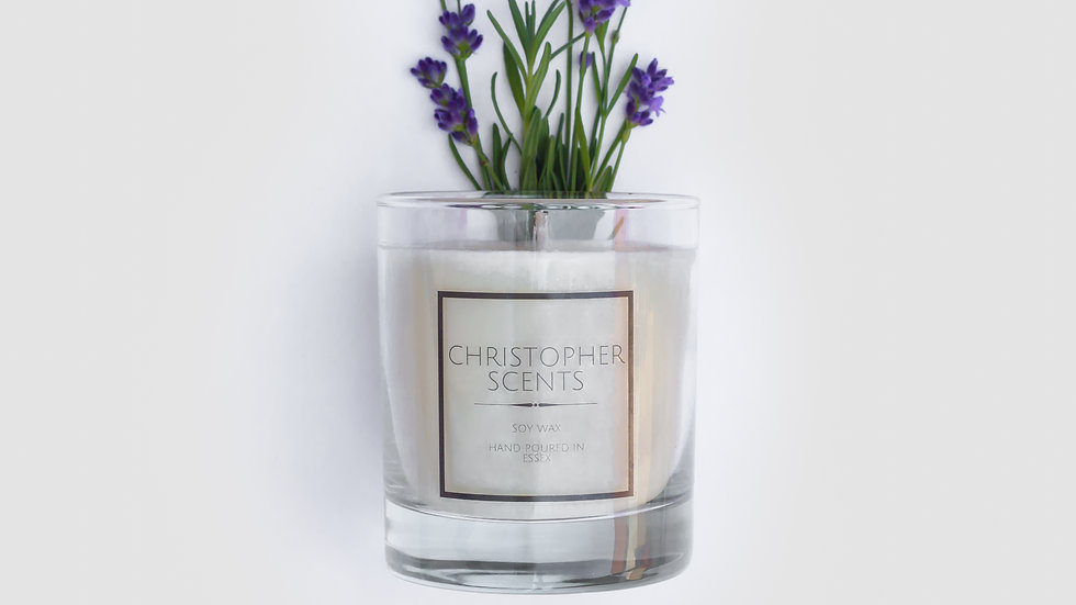Lavender Spa Candle
