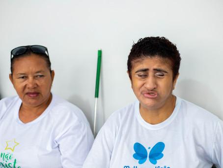 Mulheres de Visão projeto voltado à mulher cega