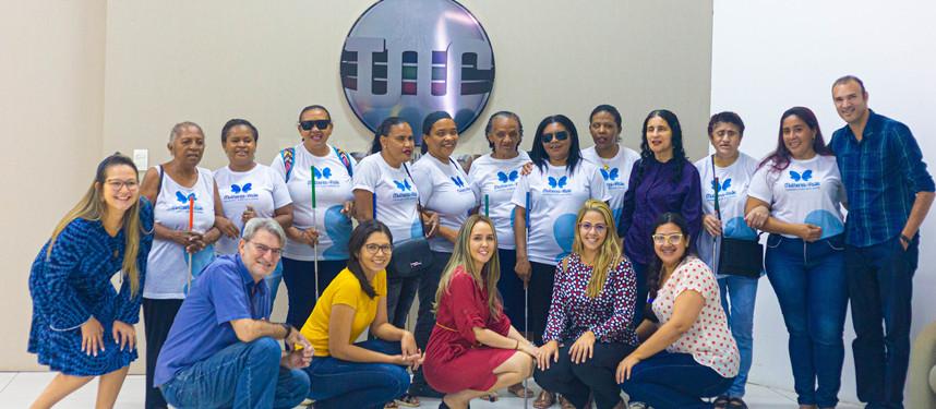 Beneficiadas visitam TV Legislativa do Piauí