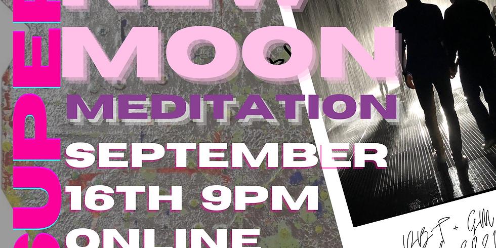 SUPER NEW MOON MANIFESTATION MEDITATION