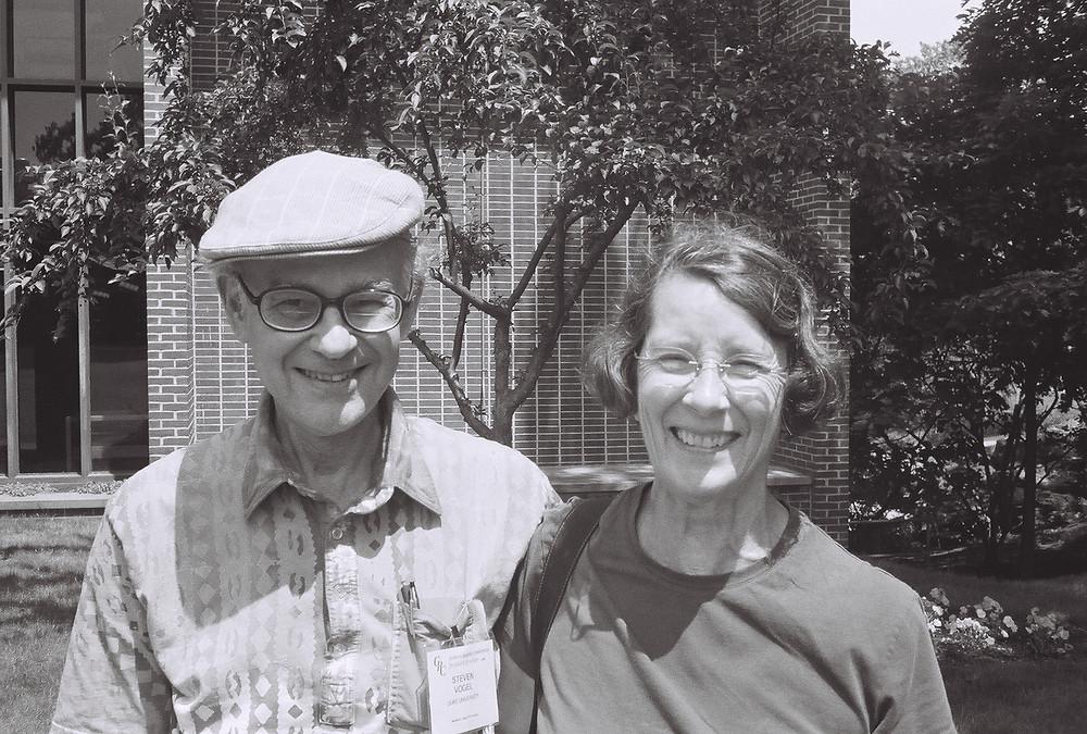 Steve and Jane Vogel, taken by James Waters in 2008