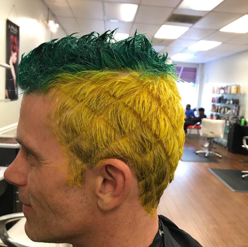Lanzendorf Hair Prize 2018 pineapple edi