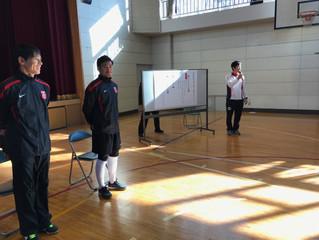 ふれあいサッカー教室2016(狭山特別支援学校)