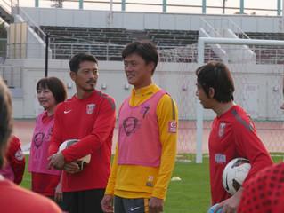 浦和レッズ後援会設立25周年記念サッカーフェスティバル開催