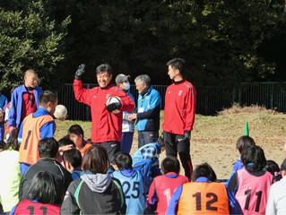 ふれあいサッカー教室@東松山特別支援学校