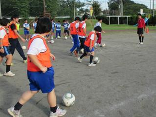 ふれあいサッカー教室2013