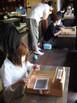 手織り佐賀錦の体験会