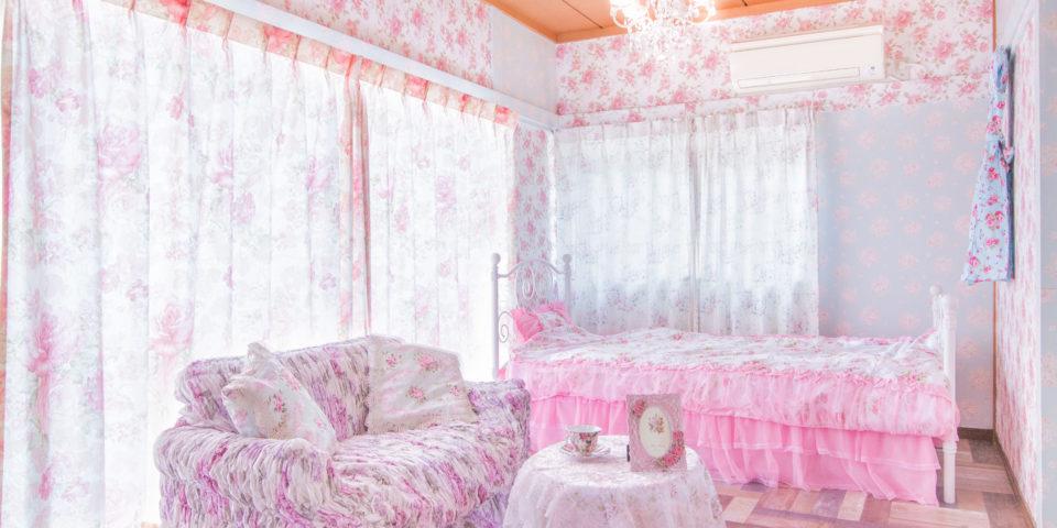 ガーリーな部屋