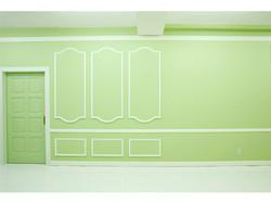 グリーンの壁