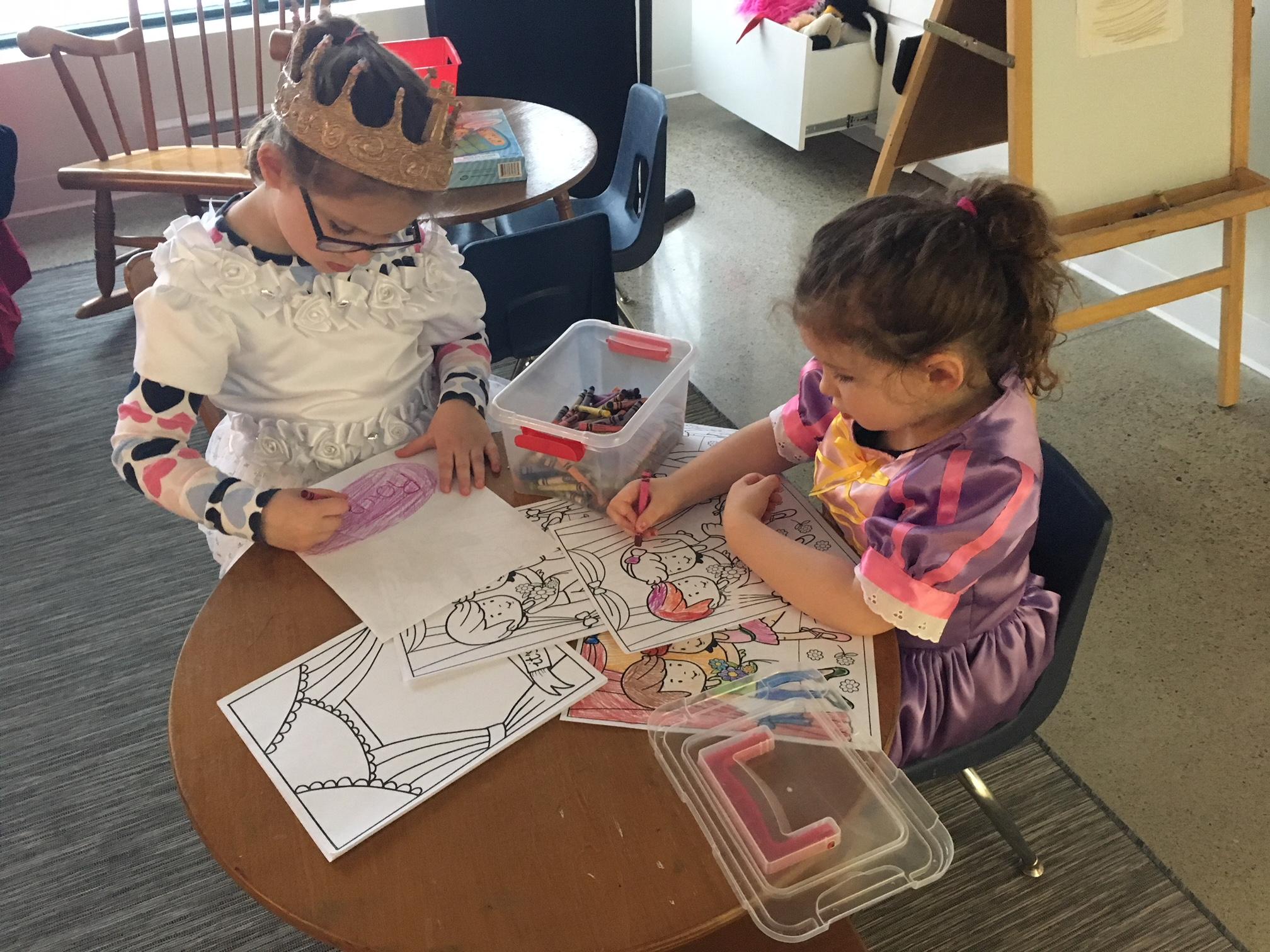 Colouring Princesses