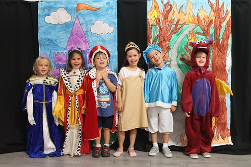 Theatre Camp Ages 4 to 7