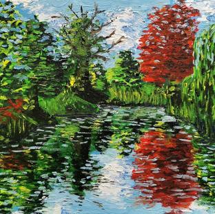 """Pond Series 2"" | Elizabeth M. | $25"