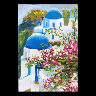 """Greece""  Elizabeth M.   $25"