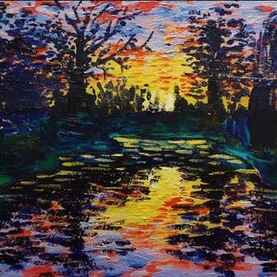 """Pond Series 3"" | Elizabeth M. | $25"