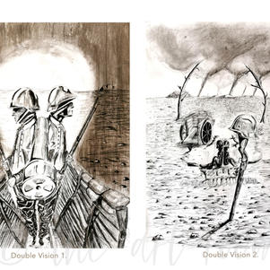 """""""A surrealist inspired series to depict the hidden trauma of war. 