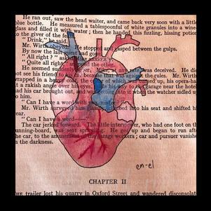 """Vintage heart"" Marie-Louise M. | $42"
