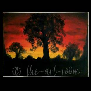 """Sunset in the Savannah"" | Samy K. | $50"