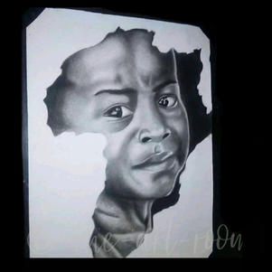 """African Child"" | Jackson. C | $72"