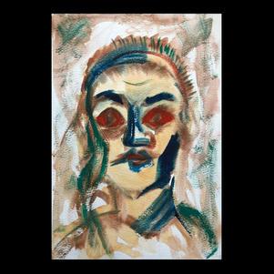 """Self Portrait"" | Elizabeth M. | $70"